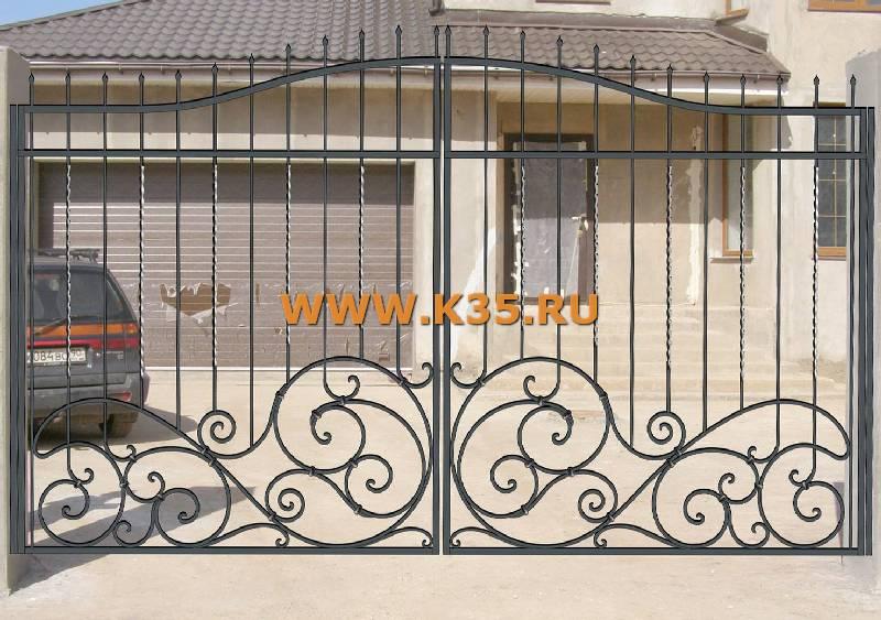 Кованые ворота заборы и калитки фото эскизы картинки 9