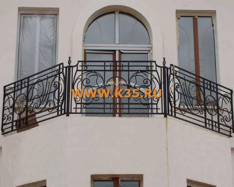 Кованые балконы москва, кованые балконные ограждения москва.